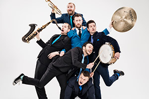 The Horne Section. Copyright: Avalon Television.