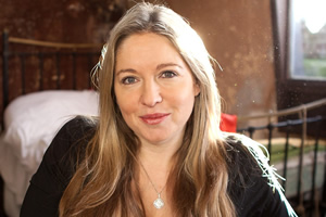How to Be Bohemian. Victoria Coren Mitchell. Copyright: BBC.