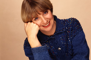 Our Friend Victoria. Victoria Wood. Copyright: BBC.