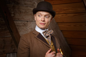 Year Of The Rabbit. Wilbur Strauss (Freddie Fox). Copyright: Objective Productions.