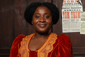 Year Of The Rabbit. Mabel Wisbech (Susan Wokoma). Copyright: Objective Productions.