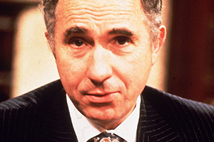 Yes Minister. Sir Humphrey Appleby (Nigel Hawthorne). Copyright: BBC.