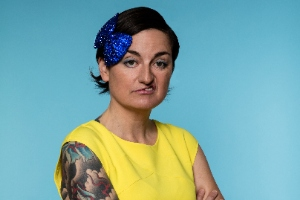 Zoe Lyons. Copyright: Mark Vessey.