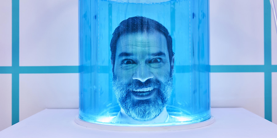 The Crystal Maze. Adam Buxton. Copyright: Channel 4 Television Corporation.