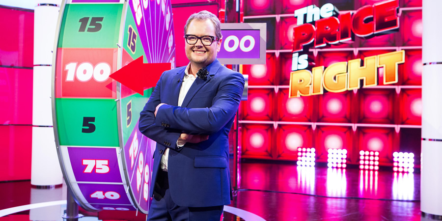 The Price Is Right. Alan Carr.