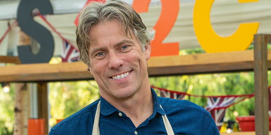 The Great Celebrity Bake Off For Stand Up To Cancer 2021. John Bishop.