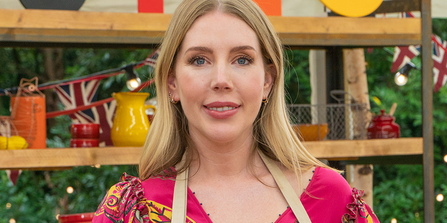 The Great Celebrity Bake Off For Stand Up To Cancer 2021. Katherine Ryan.