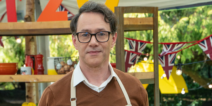 The Great Celebrity Bake Off For Stand Up To Cancer 2021. Reece Shearsmith.