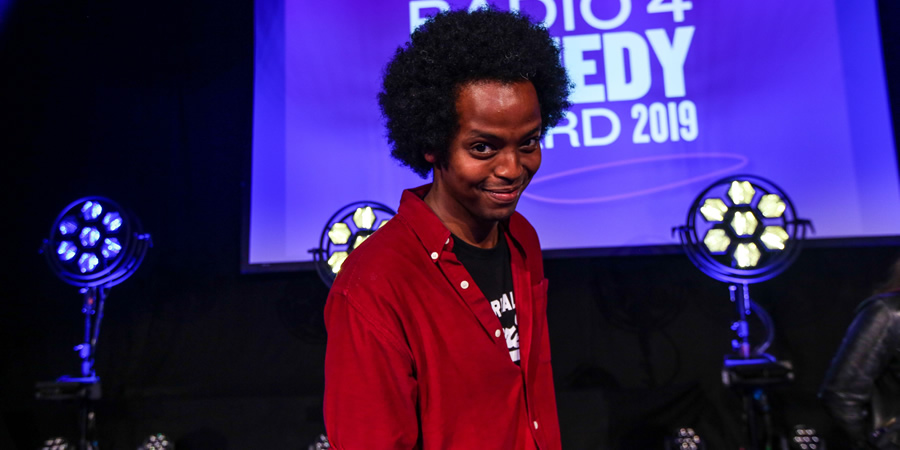 BBC New Comedy Award. Mo Omar. Copyright: BBC.