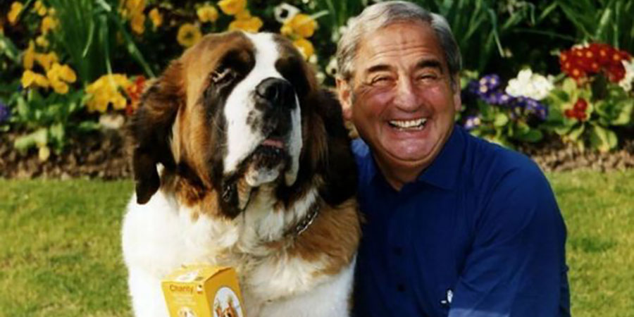 Bernie Winters and Schnorbitz the dog. Bernie Winters.