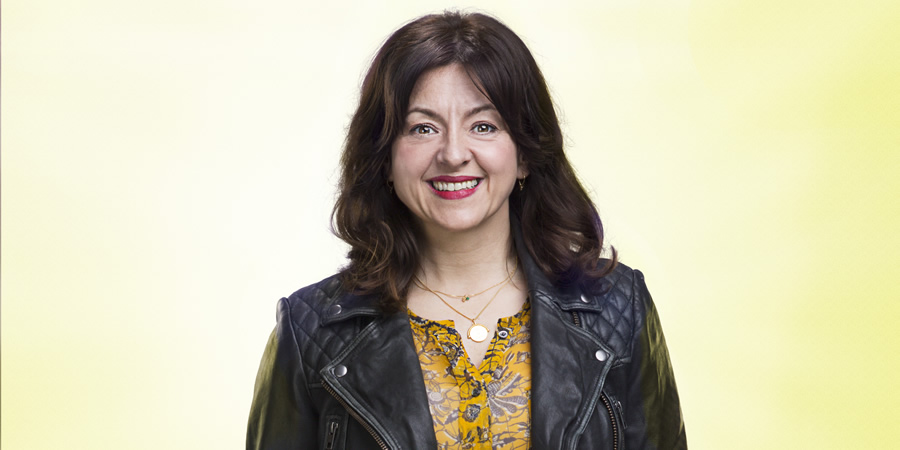 Bliss. Denise (Jo Hartley).