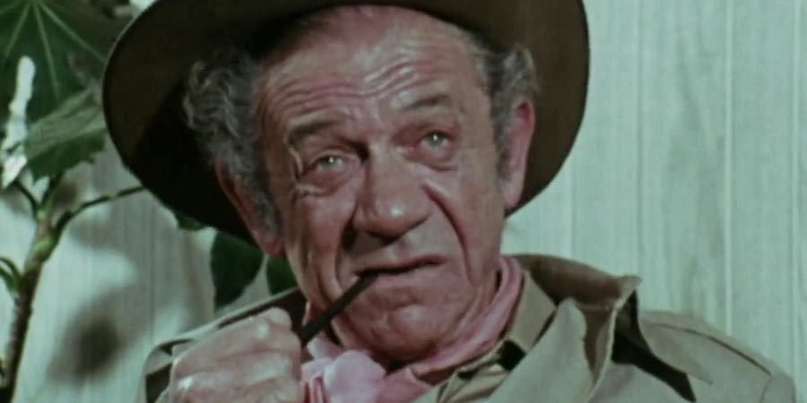 Carry On Forever. Sid James. Copyright: BBC.