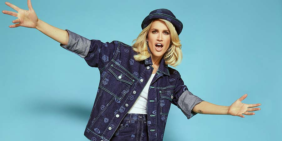Comedy Central Chart Show. Ashley Roberts. Copyright: Comedy Central.