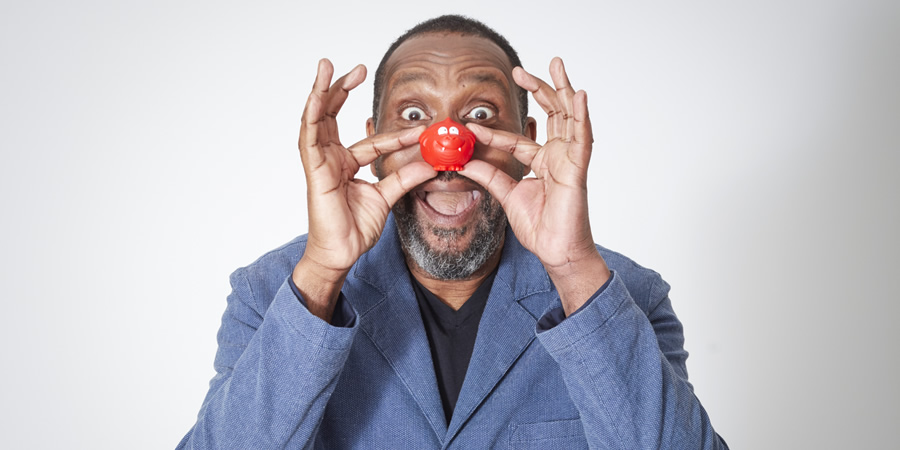 Comic Relief. Lenny Henry. Copyright: Comic Relief.