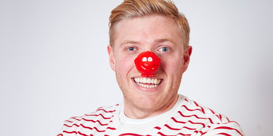 Comic Relief. Rob Beckett. Copyright: Comic Relief.