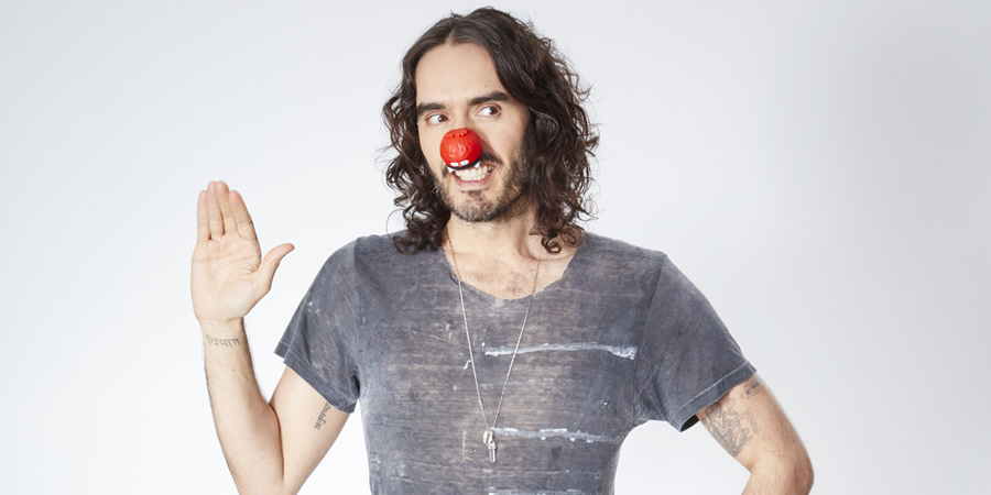 Comic Relief. Russell Brand. Copyright: Comic Relief.