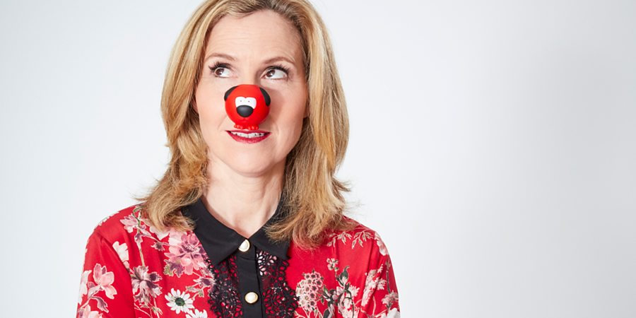 Comic Relief. Sally Phillips. Copyright: Comic Relief.
