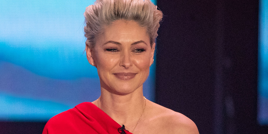 Emma Willis. Copyright: Comic Relief.