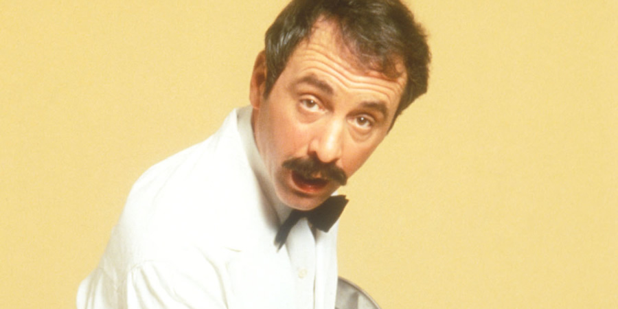 Fawlty Towers. Manuel (Andrew Sachs). Copyright: BBC.