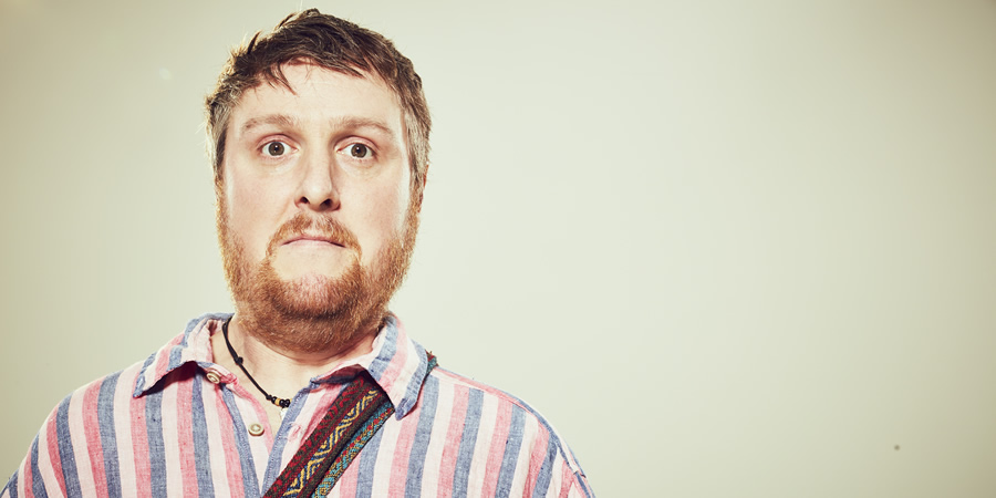 Gap Year. Greg (Tim Key). Copyright: Eleven Film.