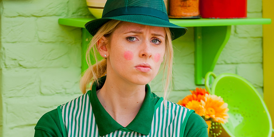Give Out Girls. Gemma (Diana Vickers). Copyright: Big Talk Productions.