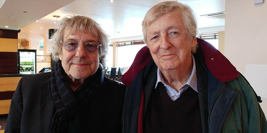 Image shows from L to R: Ian La Frenais, Dick Clement. Copyright: Aaron Brown.