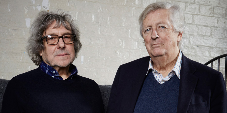 Image shows from L to R: Ian La Frenais, Dick Clement. Copyright: Phil McIntyre Entertainment / Serious Comedy.