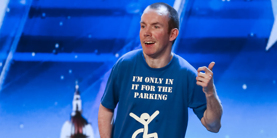 Lee Ridley. Copyright: ITV.