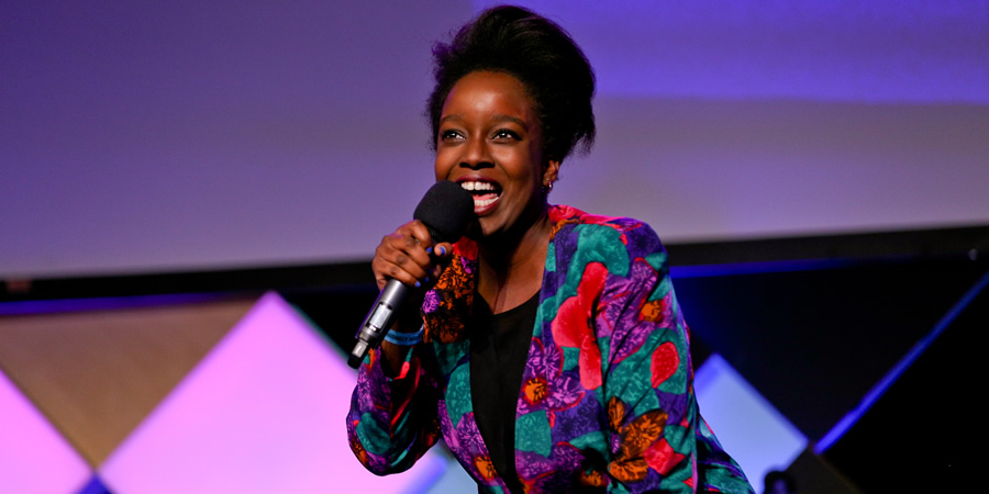 Edinburgh 2015, Pleasance Courtyard. Lolly Adefope.
