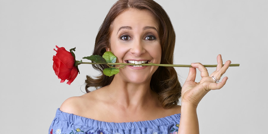 Lucy Porter In The Family Way. Lucy Porter. Copyright: ABsoLuTeLy Productions.
