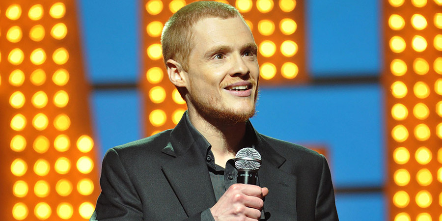 Michael McIntyre's Comedy Roadshow. Andrew Lawrence. Copyright: Open Mike Productions.