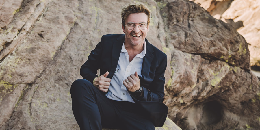 Rhys Darby. Copyright: Kate Little Photography.