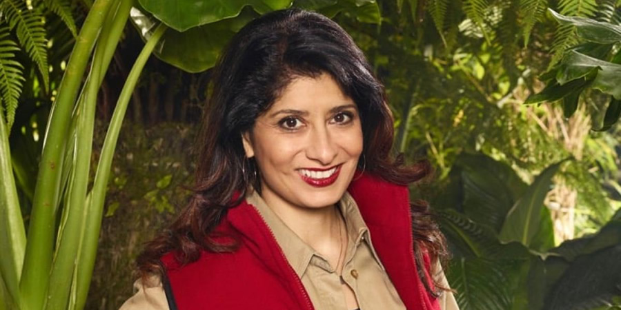 I'm A Celebrity Get Me Out Of Here. Shappi Khorsandi. Copyright: ITV.
