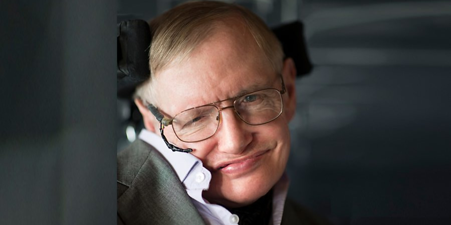 Stephen Hawking. Copyright: André Pattenden.