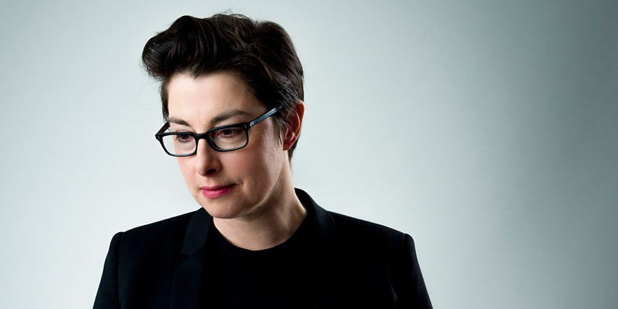 Insert Name Here. Sue Perkins. Copyright: 12 Yard Productions / Black Dog Television.
