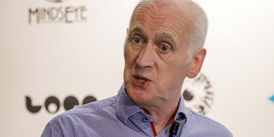 Terry Deary. Copyright: BFI.