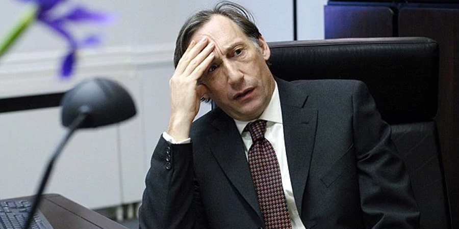 The Thick Of It. Hugh Abbot (Chris Langham). Copyright: BBC.