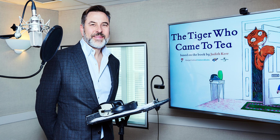 The Tiger Who Came To Tea. David Walliams. Copyright: Channel 4 Television Corporation.