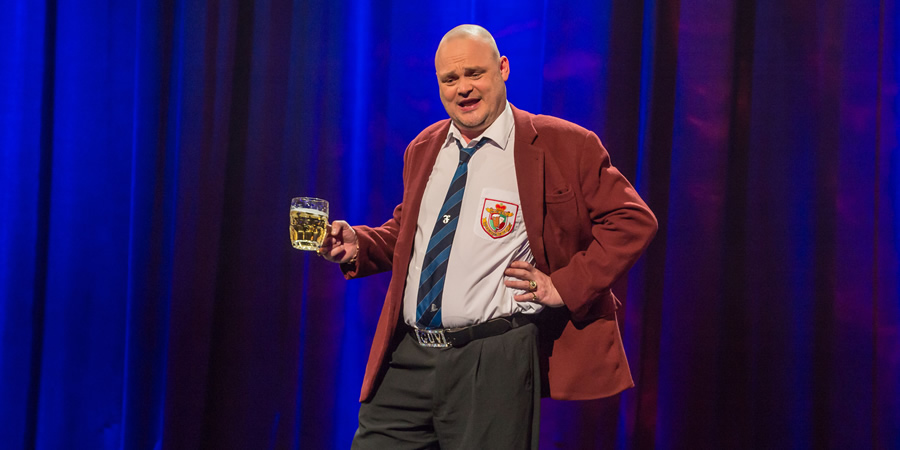 Tonight At The London Palladium. Al Murray. Copyright: ITV Studios.