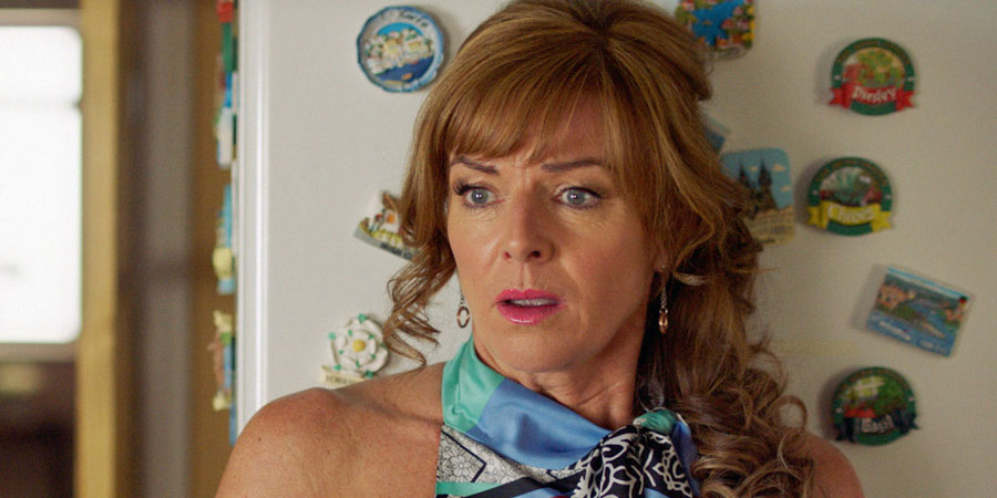 Two Doors Down. Cathy (Doon Mackichan). Copyright: BBC.
