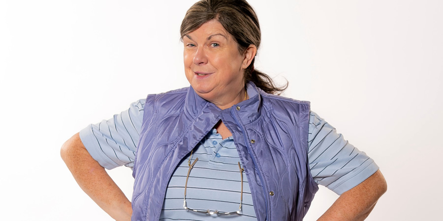 Two Doors Down. Christine (Elaine C. Smith). Copyright: BBC.