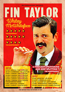 Fin Taylor - Whitey McWhiteface