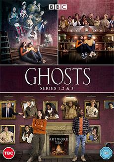 Ghosts - Series 1, 2 & 3