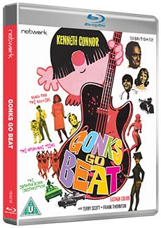 Gonks Go Beat Blu-ray cover. Copyright: Network.