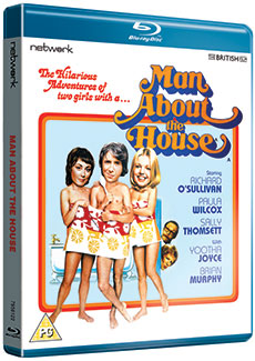 Man About The House on Blu-ray. Copyright: Network.