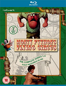 Monty Python's Flying Circus - The Complete Series 1-4