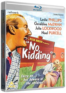 No Kidding Blu-ray release. Copyright: Network.