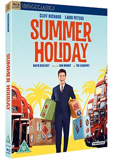 Summer Holiday Blu-ray cover. Copyright: STUDIOCANAL.
