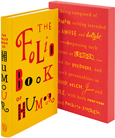The Folio Book Of Humour