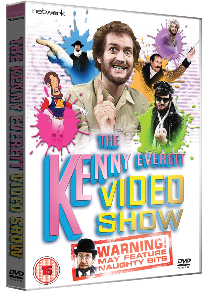 The Kenny Everett Video Show DVD cover. Kenny Everett.